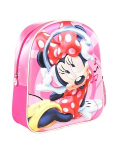Mochila Infantil Music Minnie