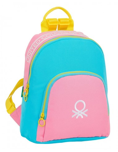 Mochila Mini Benetton rosa